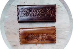 Damenbörse aus Leder