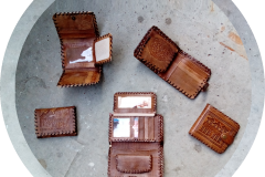 Herrenbörse aus Leder